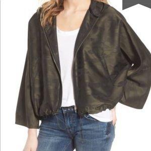 BLANK NYC camo jacket